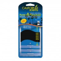 California Scents Paper Air  Newport New Car 3-pak