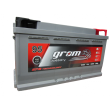 Akumulator GROM EFB START&STOP 95Ah 900A Prawy Plus DTR
