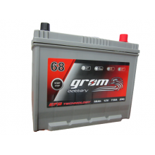 Akumulator GROM EFB START&STOP 68Ah 730A Japan Prawy Plus DTR