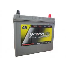Akumulator GROM Premium 45Ah 430A EN Japan Prway Plus DTR
