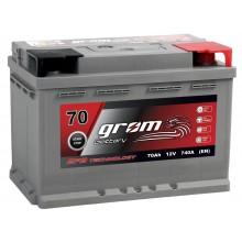 Akumulator GROM EFB START&STOP 70Ah 740A Prawy Plus DTR
